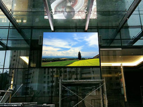 P8 Outdoor LED Display case in China