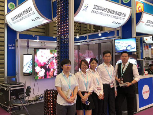 ZhongYi Intelligence led display made debut in LED CHINA 2018
