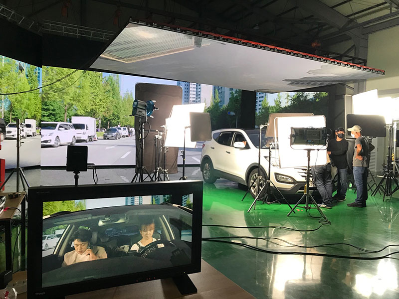 SMD Small Pixel Pitch LED Display  of a film studio in South Korea